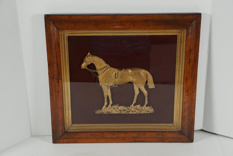 This plaque of the famous circus horse
