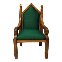 English Gothic Armchair