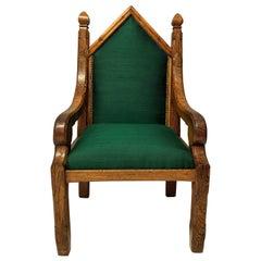 English Gothic Armchair
