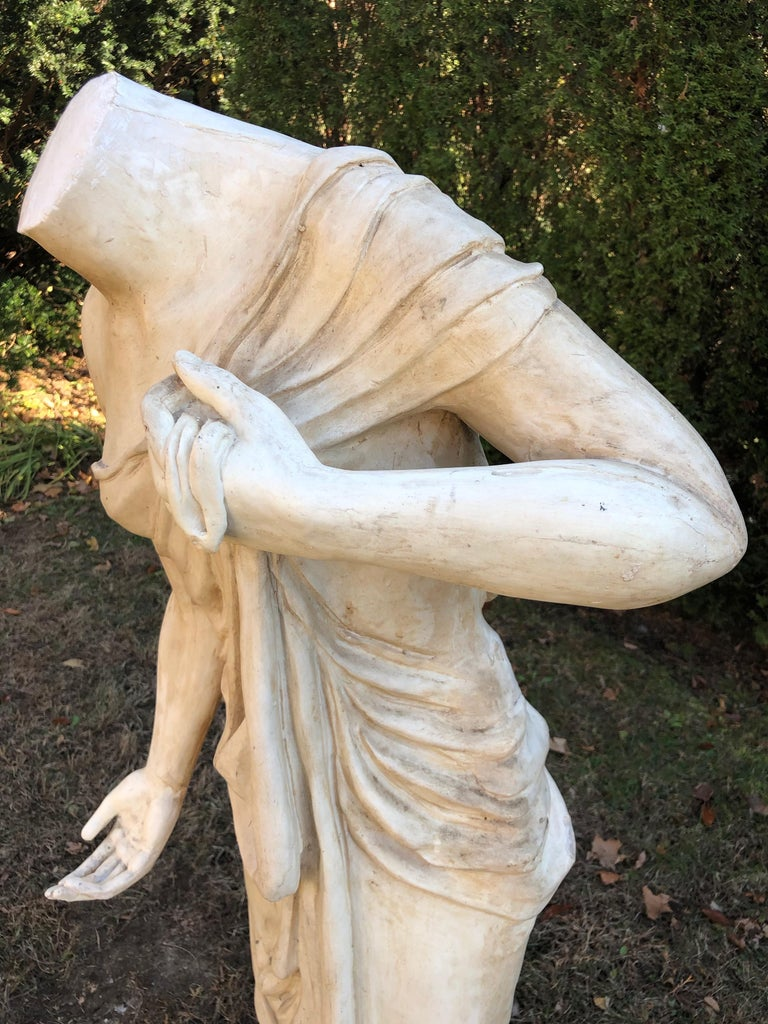 English Headless Life-Sized Classical Figure of Venus For Sale 4