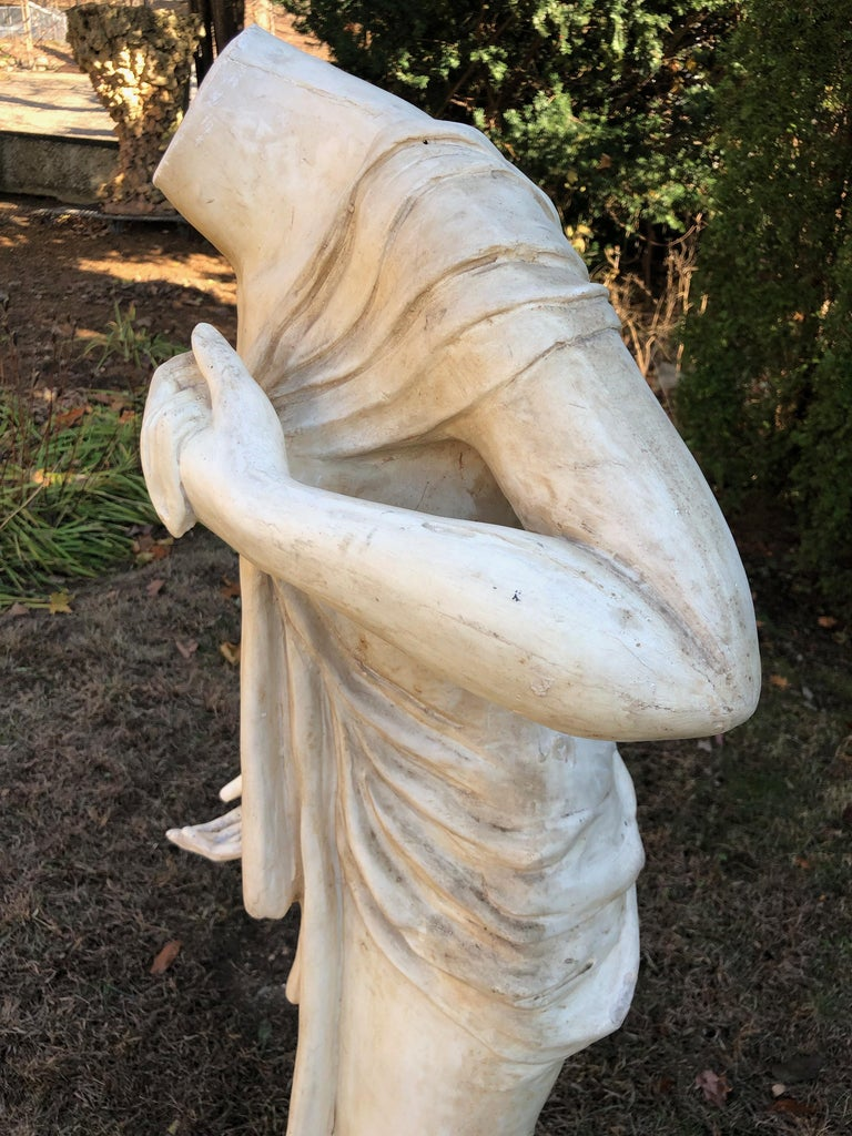 English Headless Life-Sized Classical Figure of Venus For Sale 5