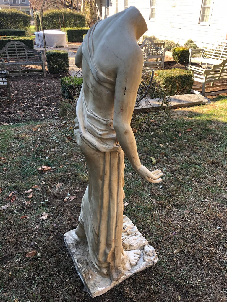 20th Century English Headless Life-Sized Classical Figure of Venus For Sale