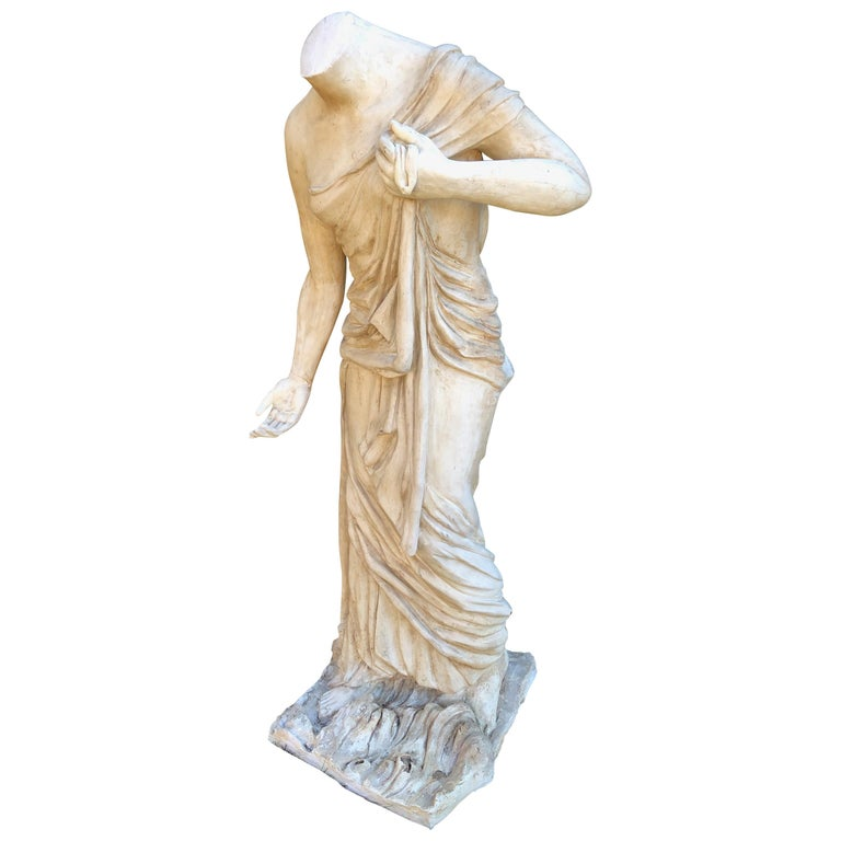 English Headless Life-Sized Classical Figure of Venus For Sale