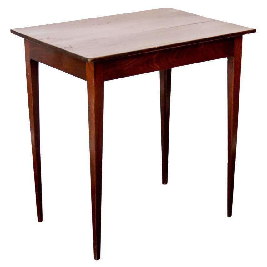 English Hepplewhite Center Table