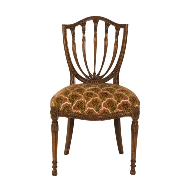 Hepplewhite chair, ca. 1910, offered by the Antique and Artisan Gallery