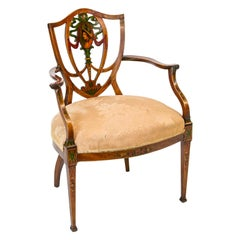 English Hepplewhite Shield Back Chair
