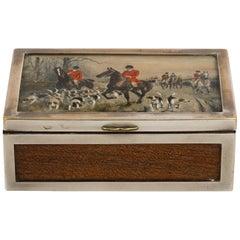English Hunt Box, circa 1930s