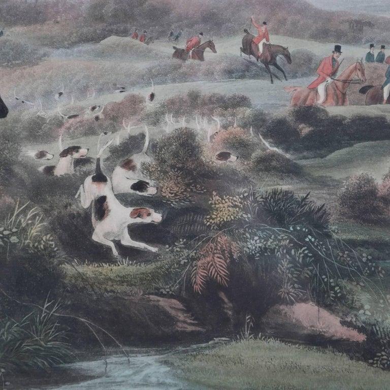 English Hunt Engraving