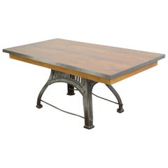 English Industrial Table by Bamfords, circa 1910