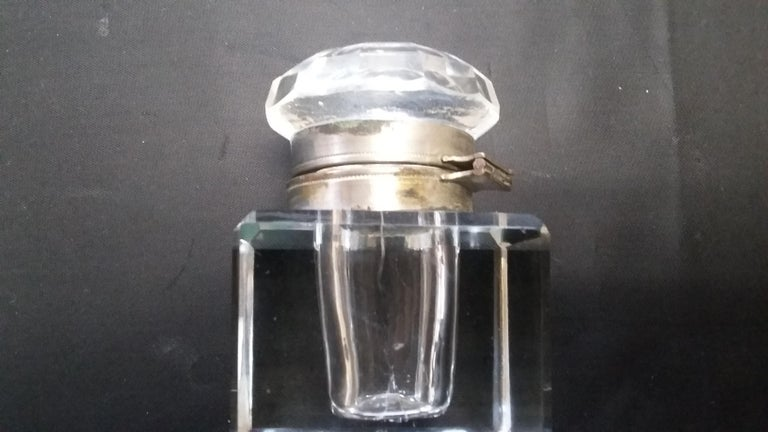 Crystal English Inkwell For Sale