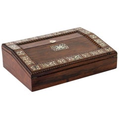 English Inlaid Lap Desk
