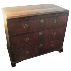 English Inlaid Walnut Chest of Drawers