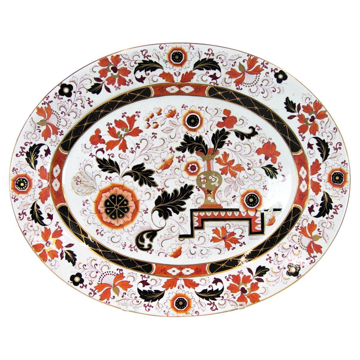 English Ironstone Large Platter