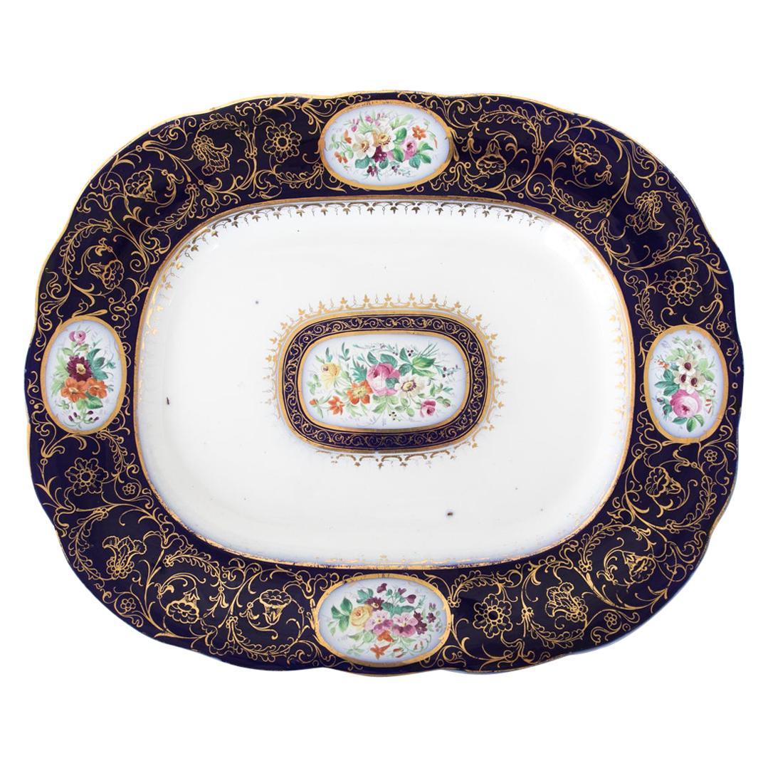 English Ironstone Serving Platter