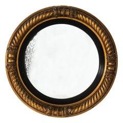 English IV Style Convex Mirror, circa 1835
