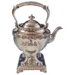 English King by Tiffany & Co. Sterling Kettle on Stand #10053/1334