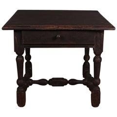 English Lamp Table