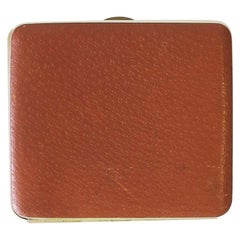 English Leather Cigarette Holder Case