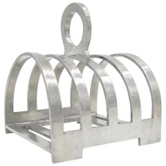 English Liberty & Co Tudric Pewter Toast Rack, circa 1914