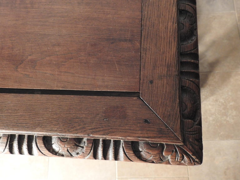 English Library Table, 19th Century For Sale 3