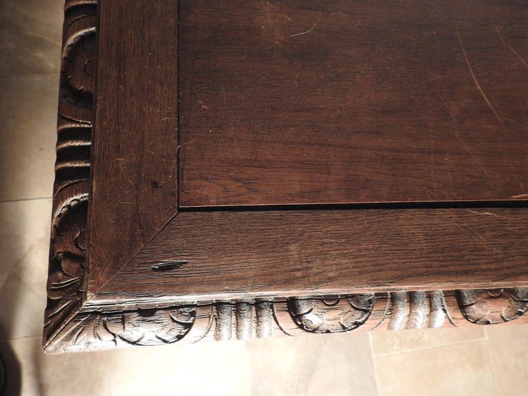 English Library Table, 19th Century For Sale 6
