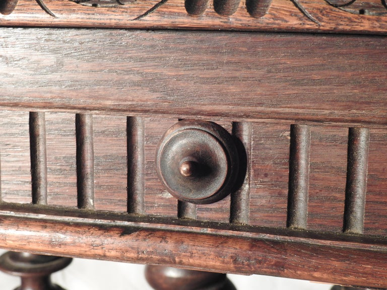 English Library Table, 19th Century For Sale 8