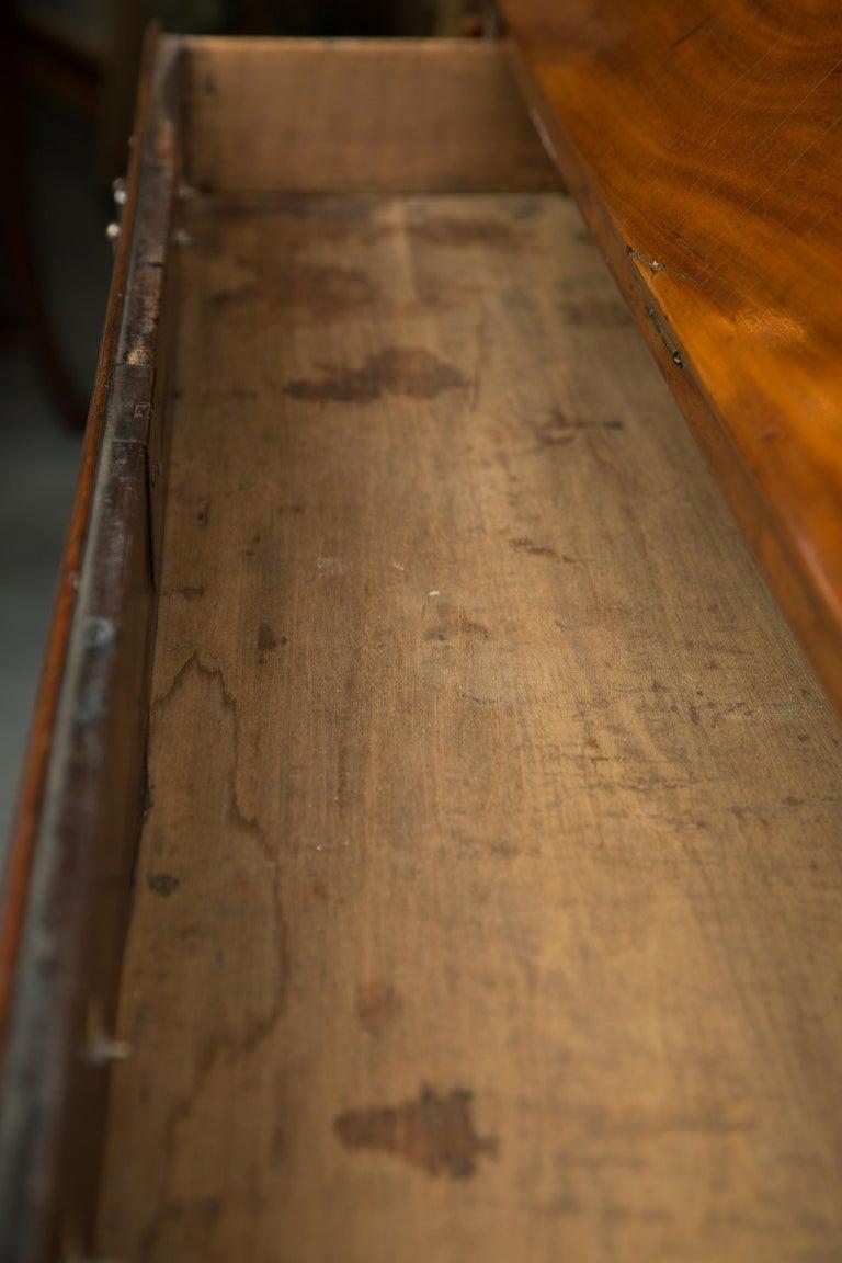English Mahogany 18th Century Slant Top Desk For Sale 2