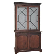English Mahogany Bookcase, 19th Century