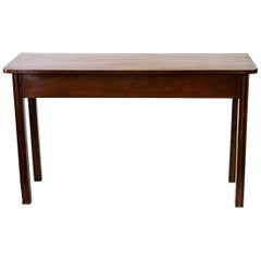 English Mahogany Console Table