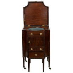 English Mahogany Dressing Table