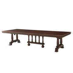 English Mahogany Extending Dining Table