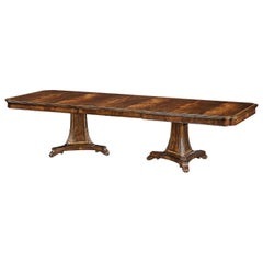 English Mahogany Extension Dining Table