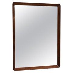 English Mahogany Framed Mirror
