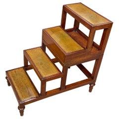 English Mahogany Metamorphic Table, to Library Steps 'Early 19th Century'