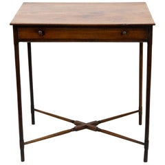 English Mahogany Spider Leg Table