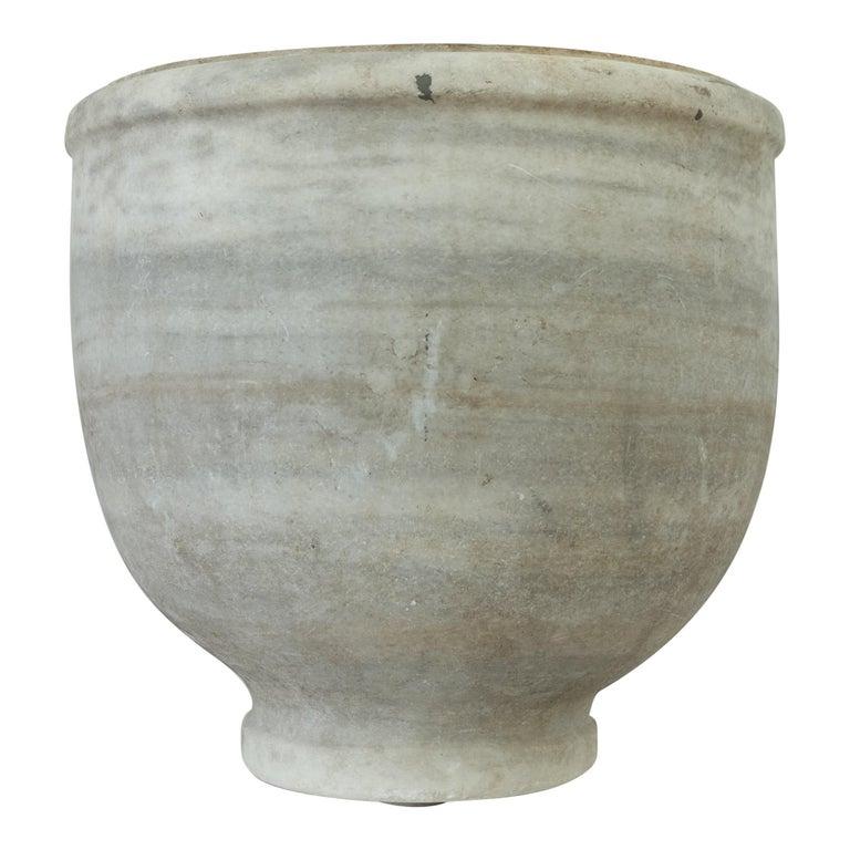 Marble vase, 1850s