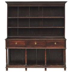 English Mid-19th Century Oak Welsh Dresser
