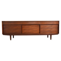English Modern Midcentury Credenza in Afromosia