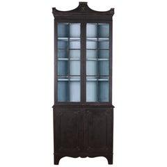 English Narrow Bookcase