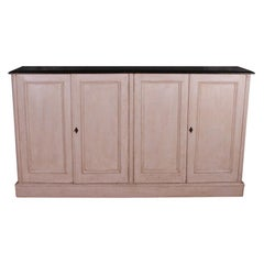 English Narrow Painted Dresser Base