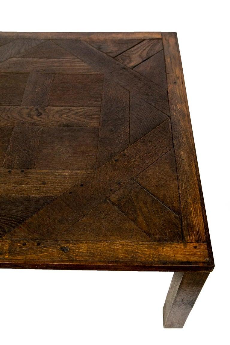 Late 20th Century English Oak Coffee Table