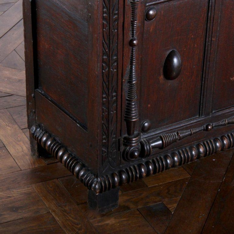 English Oak Court Cupboard For Sale 2