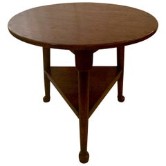 """English Oak """"Cricket"""" Table"""