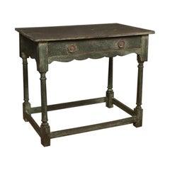 English Oak Lamp Table