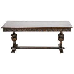 English Oak Low Table