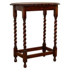 English Oak Occasional Table, circa 1900
