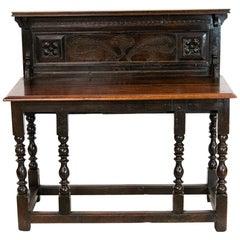English Oak Side Table