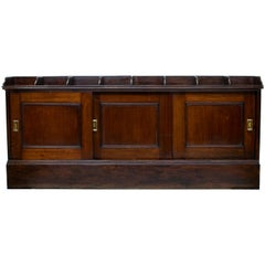 English Office Cabinet or Shops Cabinet, circa 1910