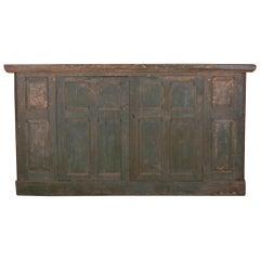 English Original Painted Housekeepers Cupboard