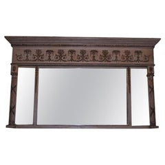 English Over Mantel Mirror